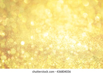 Glow glitter background. Elegant abstract background with bokeh