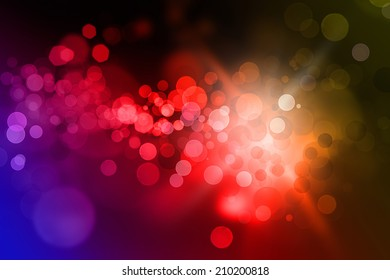 Glowing abstract vivid colour background