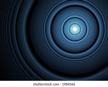 Glowing Blue Circles - High Resolution Illustration.  Suitable for graphic or background use.  Click the designer's name under the image for various  colorized versions of this illustration.