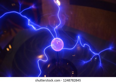 glowing electrostatic ball