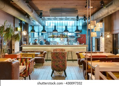 Color Restaurant Design Stock Photos Images Photography