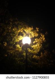 Glowing light orb