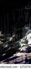 Glowworms at the Ruakuri Caves, Waitomo, New Zealand, North Island, NZ