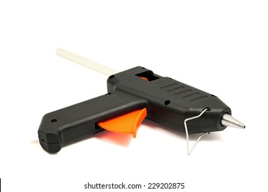 Glue gun isolated on a white background