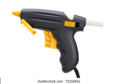 glue gun, isolated on white
