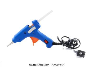 glue gun isolated on white background