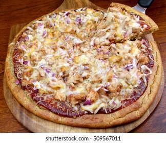 Gluten Free BBQ Chicken Pizza