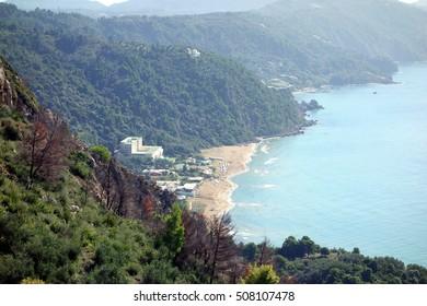 Glyfada Beach, Corfu Trail, Greece