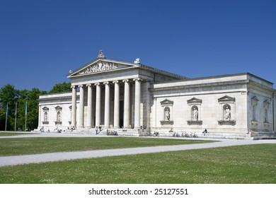 The Glyptothek in Munich Germany home of Greek and Roman antiquities.