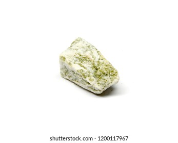 gneiss rock on a white background
