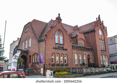 Gniezno, Poland, November 05, 2017: Municipal Cultural Center