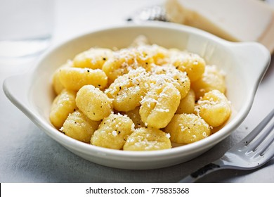 Gnocchi with parmesan