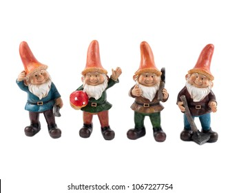 Gnome isolated with clipping path