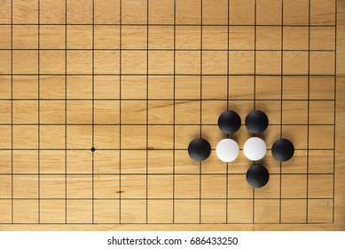 Go, an ancient Chinese board game that contain of many possibility of the direction of the game. Many asian business man use this game to practice his mention and decision skill.