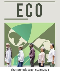 Go Green Save Earth Concept