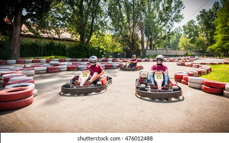 Go kart speed drive race