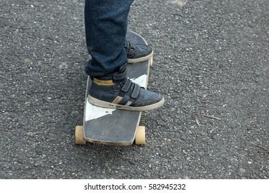 go skateboarding - Shutterstock ID 582945232