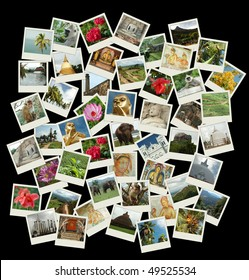 Go to Sri Lanka - stack of photos with Sri Lanka landmarks