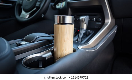 To go thermos for coffee or tea in the car.