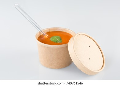 to go Tomato soup take away