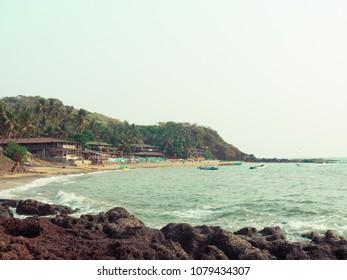 Goa Beach Shoreline