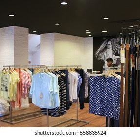 Goa, India - March 01, 2015: Fashion boutique Pepe Jeans