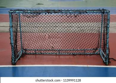 Goal at a futsal court