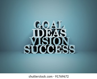 Goal Ideas Vision Success