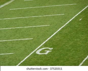 Goal line football field texture