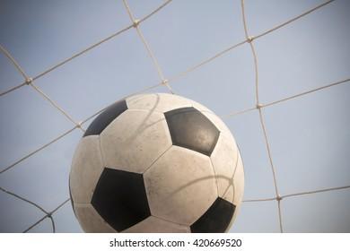 goal scoring , success concept