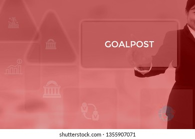 GOALPOST - technology and business concept