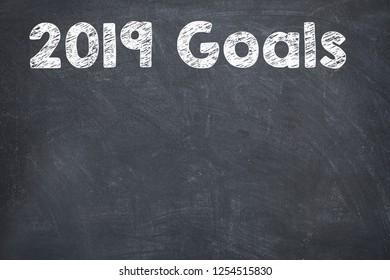 Goals 2019 on Blackboard