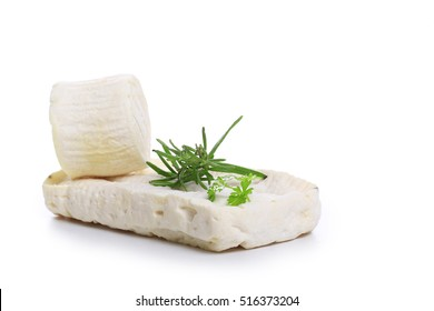 goat cheese isolated