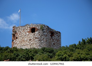Goat Tower in small Mikulov city in South Moravian Region, Mikulov, Czech Republic