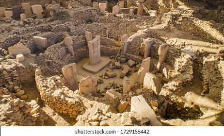 Gobeklitepe in Sanliurfa. The Oldest Temple of the World. Gobekli Tepe is a UNESCO World Heritage site.