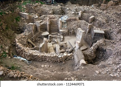 Gobeklitepe temple, The oldest temple ruins of the world (Gobeklitepe was built exactly 12,000 years ago today) - Urfa, Turkey