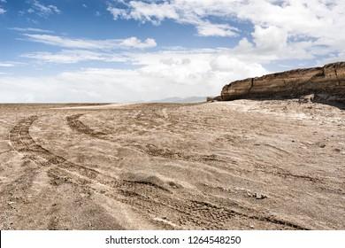 Gobi Desert Wasteland