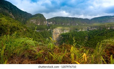 Gocta waterfall, Amazonas, Peru