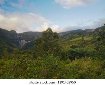 Gocta waterfall, Chachapoyas, Peru