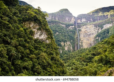 Gocta Waterfall/ Chachapoyas/ Peru/ south america