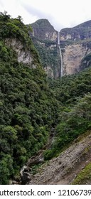 gocta waterfall located in chachapoyas peru one of the 5 largest waterfalls in the world