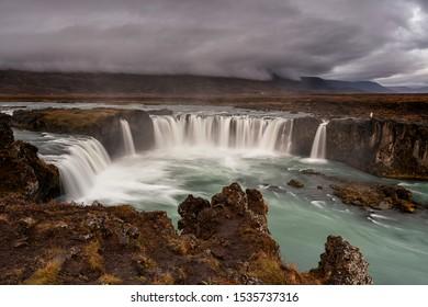 Godafoss Gods waterfall in Iceland
