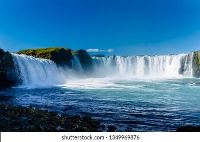 Godafoss the Waterfall of Gods, Akureyri - Iceland