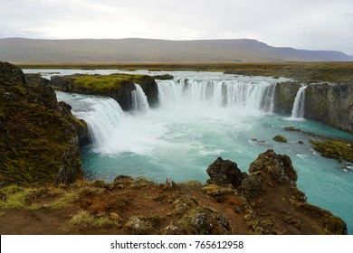 Godafoss waterfall near Akureyri
