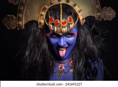 Goddes Kali portrait