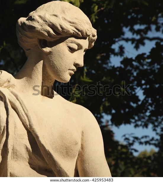 Goddess Love Greek Mythology Aphrodite Venus Stock Photo