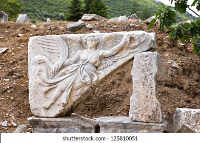 The goddess of victory, Ephesus, Turkey