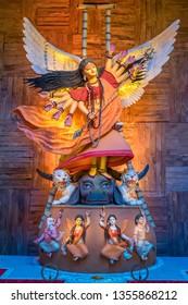 Godess Durga as fairy