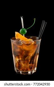 Godfather alcoholic cocktail