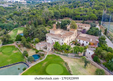 Godmar Castle is a fortified farmhouse, also known as Cal Comte, located in the Pomar de Dalt neighborhood of the Catalan town of Badalona, Spain. It is listed as a Cultural Asset of National Interest